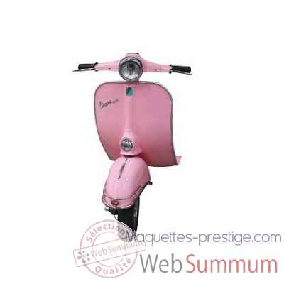 Avant de vespa rose Antic Line -SEB14668