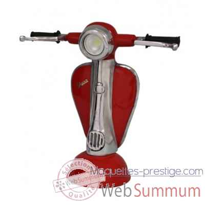 Lampe vespa rouge Antic Line -SEB14924