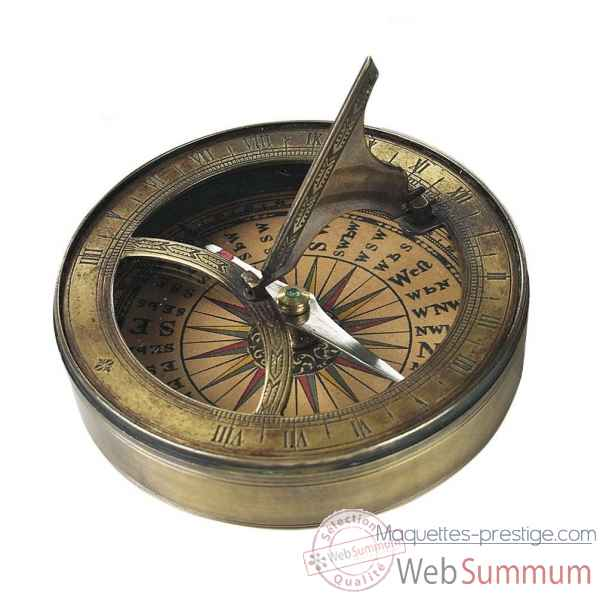 Boussole lewis&clark Decoration Marine AMF -CO012A