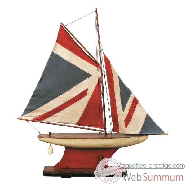 Yacht de Bassin Union Jack -AS051