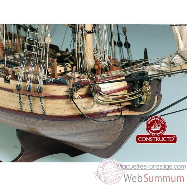 Constructo  Maquette bateau en bois : Halifax  Rue des Maquettes