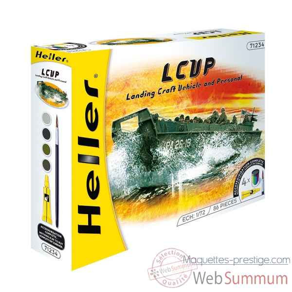 Maquette lcvp landing craft vehicle & personal heller -49995