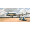 Maquette lockheed l-1049g super constellation heller -80391
