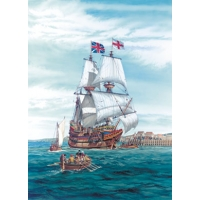 Maquette mayflower heller -80828