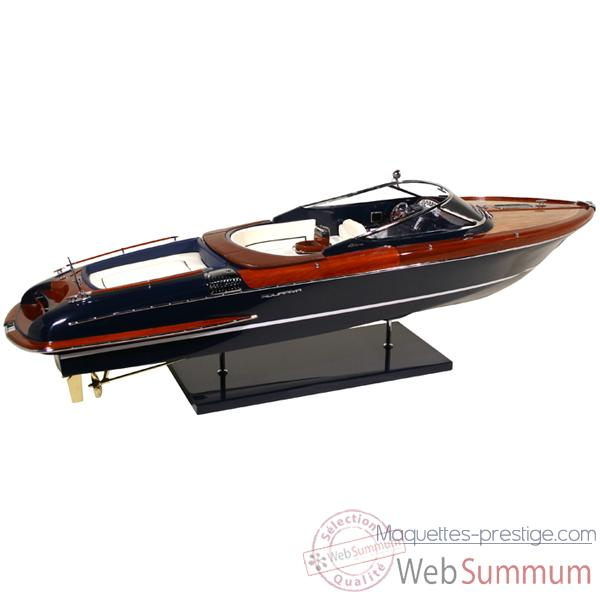Video Maquette Runabout Italien Riva Aquariva 84 Licence Officielle RIVA