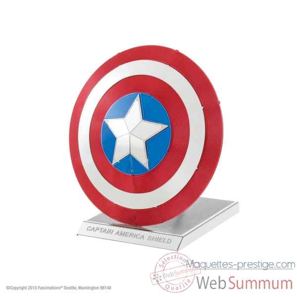 Maquette 3d en metal avengers-bouclier du capitaine amerique Metal Earth -5061321