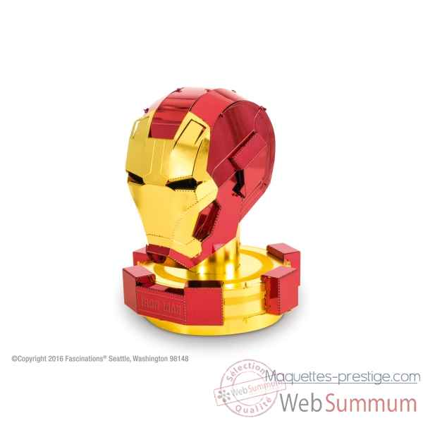 Maquette 3d en metal avengers-casque iron man Metal Earth -5061324