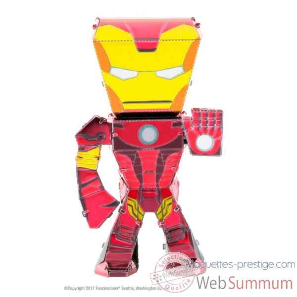 Maquette 3d en metal avengers-iron man Metal Earth -5060002