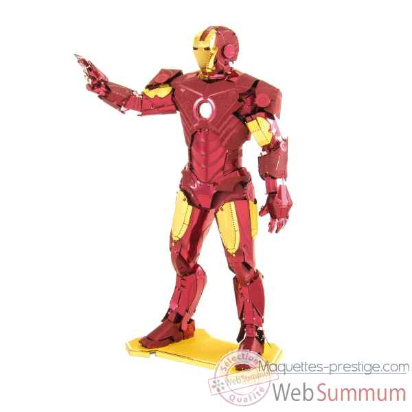 Maquette 3d en metal avengers-iron man Metal Earth -5061322