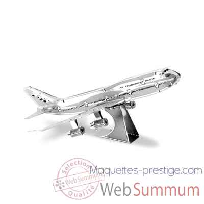 Maquette 3d en metal avion boeing 747 Metal Earth -5061004