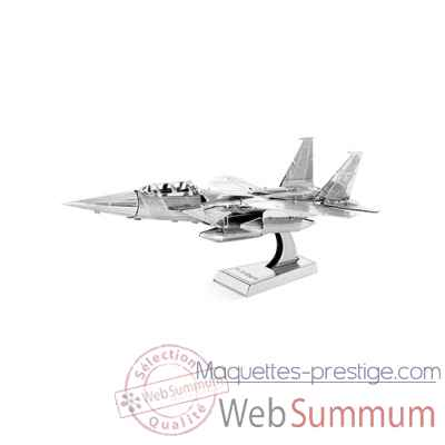 Maquette 3d en metal avion de chasse f-15 Metal Earth -5061082