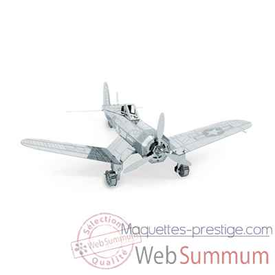 Maquette 3d en metal avion f4u corsair Metal Earth -5061035