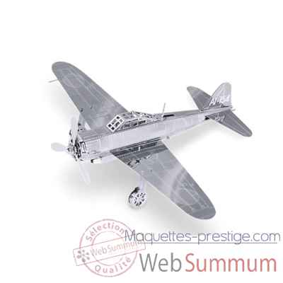 Maquette 3d en metal avion mitsubishi zero Metal Earth -5061028