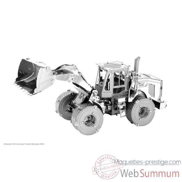 Maquette 3d en metal cat - wheel loader Metal Earth -5061423