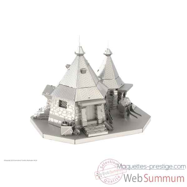 Maquette 3d en métal harry potter - la cabane de hagrid Metal Earth -5061441