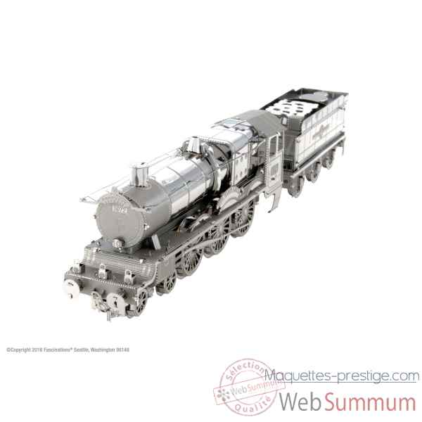 Maquette 3d en metal harry potter - poudlard train express Metal Earth -5061440