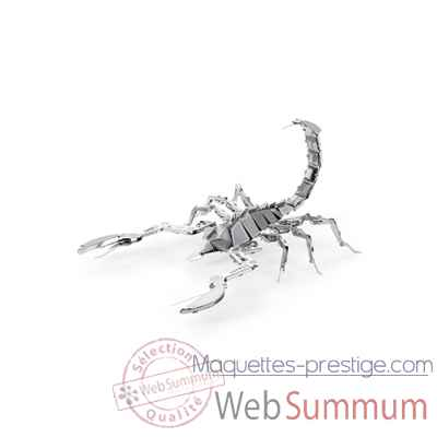 Maquette 3d en metal insecte scorpion Metal Earth -5061070