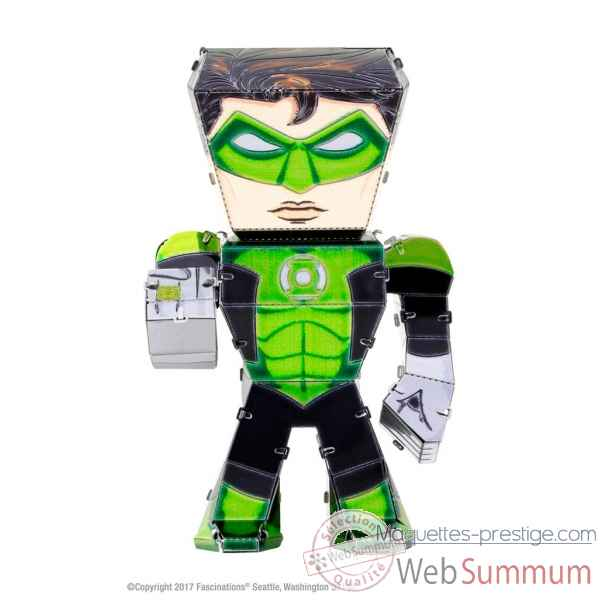 Maquette 3d en metal justice league-green lantern Metal Earth -5060026