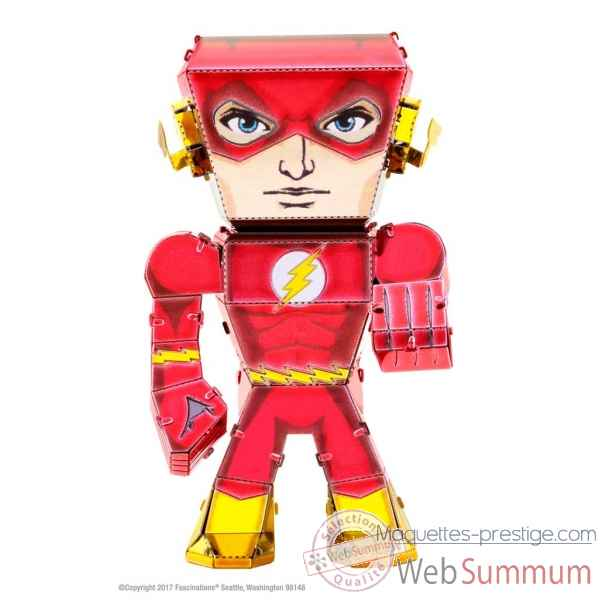 Maquette 3d en metal justice league-the flash Metal Earth -5060027