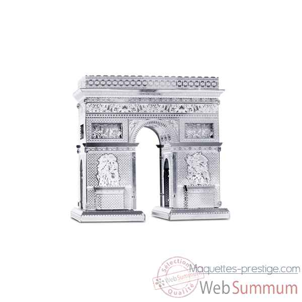 Maquette 3d en metal monument arc de triomphe Metal Earth -5061023