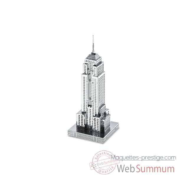 Maquette 3d en metal monument empire state building Metal Earth -5061010