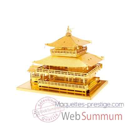 Maquette 3d en metal monument gold kinkaku-ji Metal Earth -5061090
