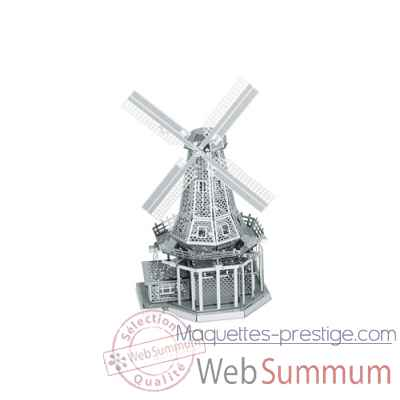 Maquette 3d en metal moulin a vent Metal Earth -5061038