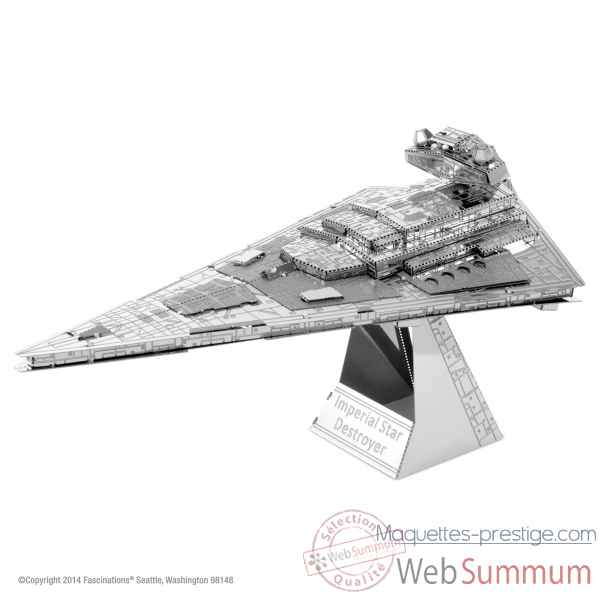 Maquette 3d en métal star wars destroyer imperial star Metal Earth -5061254