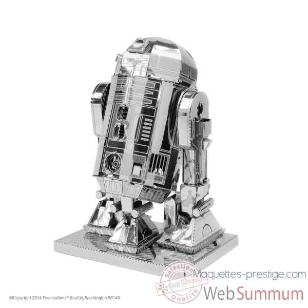 Maquette 3d en metal star wars r2-d2 Metal Earth -5061250
