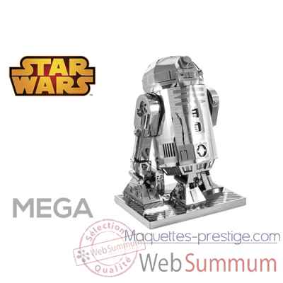 Maquette 3d en metal star wars r2-d2 Metal Earth -5061932