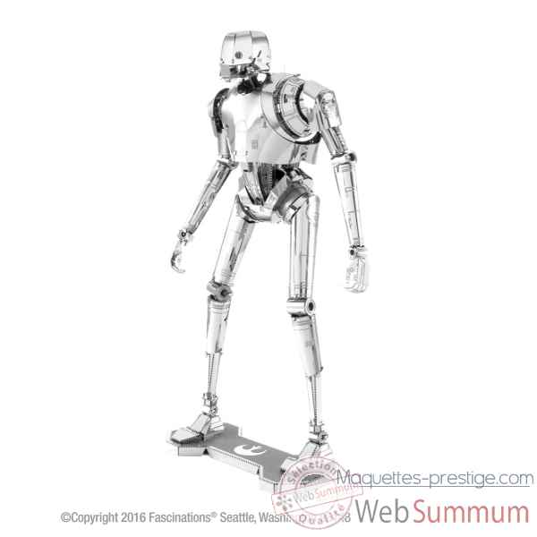 Maquette 3d en metal star wars (rogue one) k-2so Metal Earth -5061275