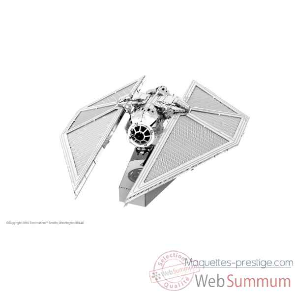 Maquette 3d en metal star wars (rogue one) tie striker Metal Earth -5061273