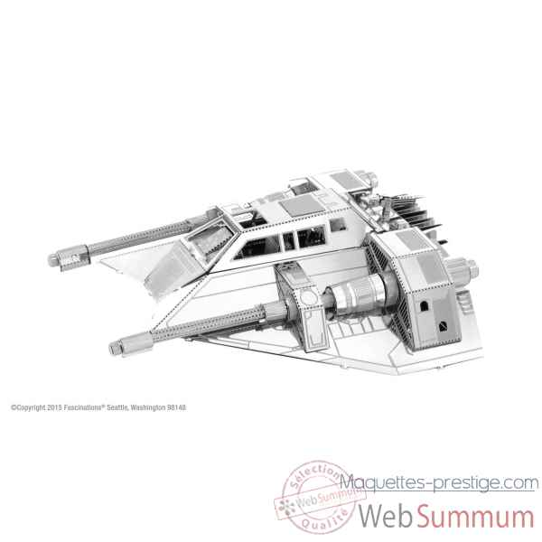 Maquette 3d en metal star wars snowspeeder 6 Metal Earth -5061258