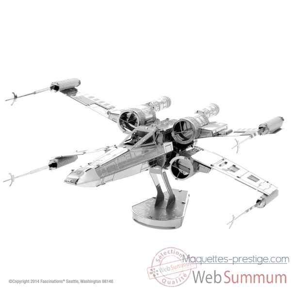 Maquette 3d en metal star wars x-wing star fighter Metal Earth -5061257