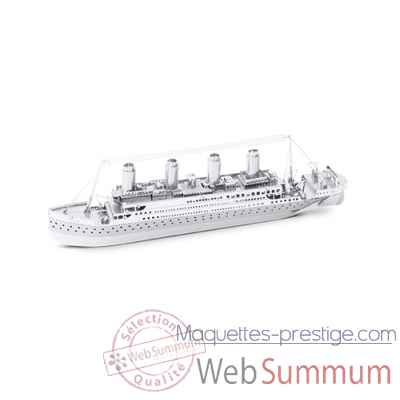 Maquette 3d en metal titanic Metal Earth -5061030