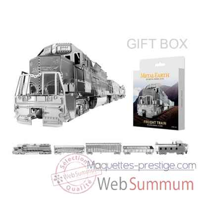 Maquette 3d en metal train de marchandise Metal Earth -5060371