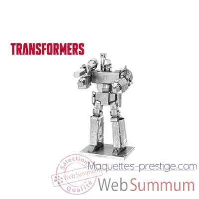 Maquette 3d en metal transformers-megatron Metal Earth -5060303