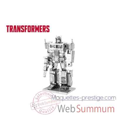 Maquette 3d en metal transformers-optimus prime Metal Earth -5060300