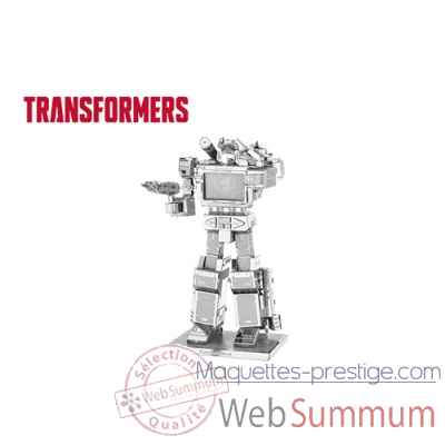 Maquette 3d en metal transformers-soundwave Metal Earth -5060302