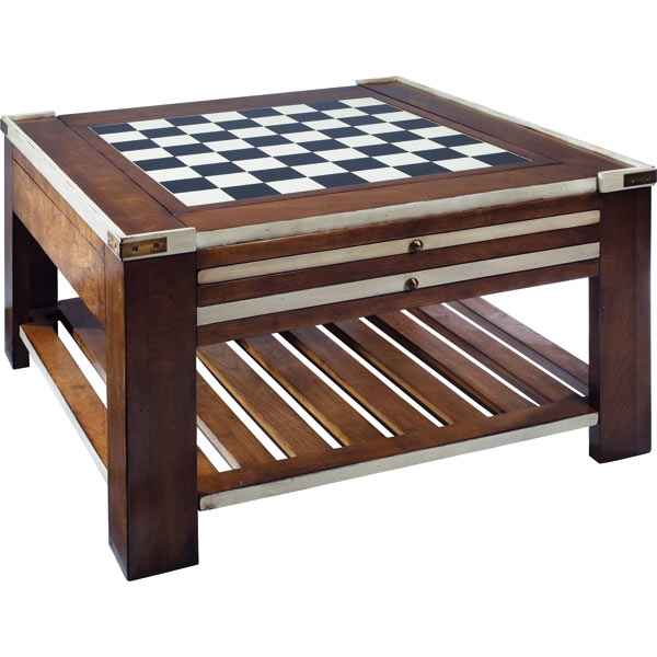 Video Table basse Table a Jeux Ivoire -amfmf005