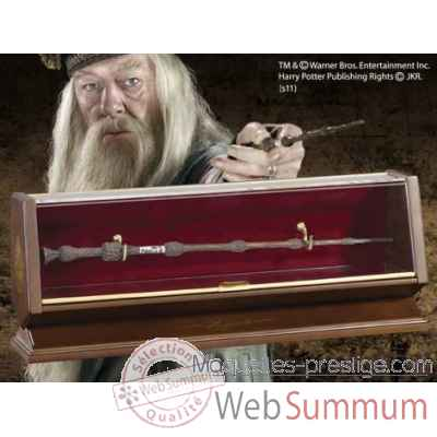 Baguette - albus dumbledore - bronze Noble Collection -NN8503