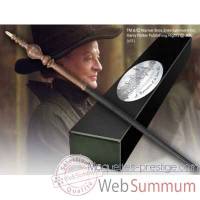 Baguette du professeur minerva mcgonagall Noble Collection -NN8290