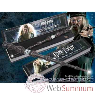 Baguette lumineuse - albus dumbledore Noble Collection -NN8030