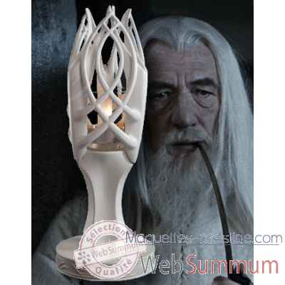 Bougeoir - gandalf le blanc Noble Collection -NN2689