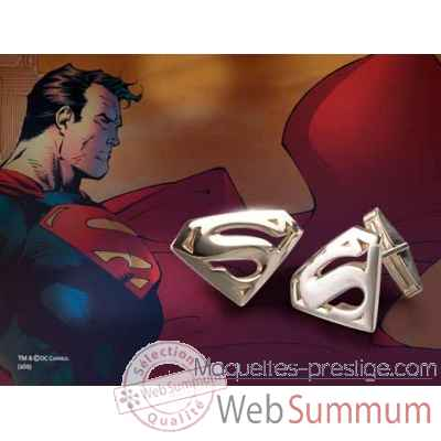 Boutons de manchette - superman returns™ Noble Collection -NN4436