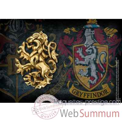 Broche poudlard - gryffondor - harry potter Noble Collection -NN7244