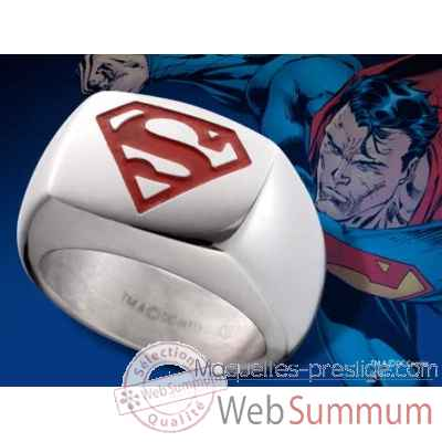 Chevaliere embleme superman rouge Noble Collection -NNXT8313
