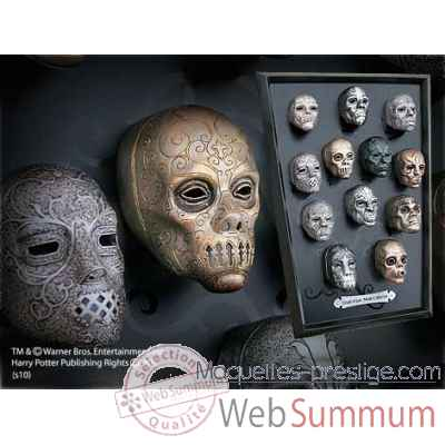 Collection des masques des mangemorts Noble Collection -NN7396