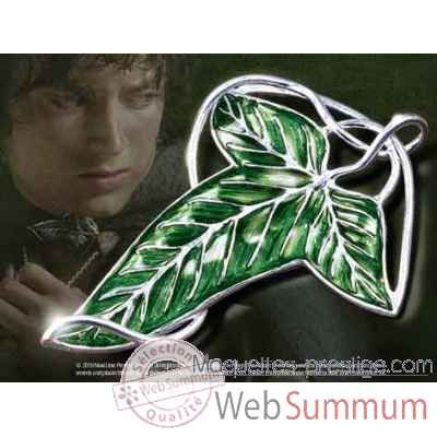Feuille de la lorien - broche - argent massif Noble Collection -NN9229