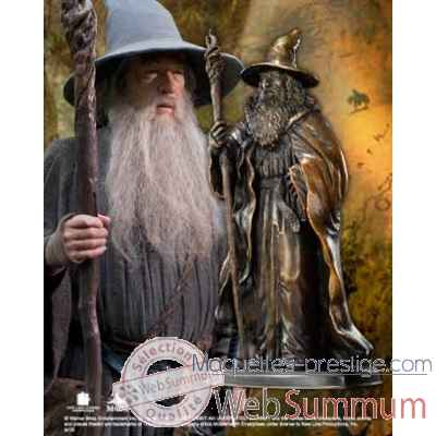 Statue Gandalf - sculpture en bronze Noble Collection -NN1208